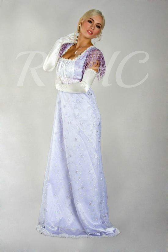 Image 2 of Miss Mary Regency Dress