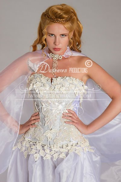 Image 0 of Snow Queen Period Fantasy  Gown