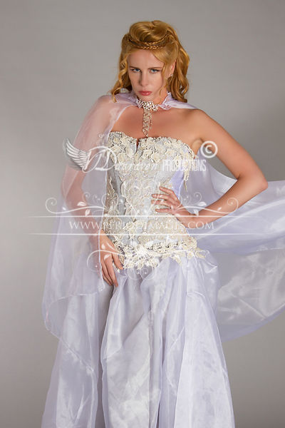 Image 2 of Snow Queen Period Fantasy  Gown