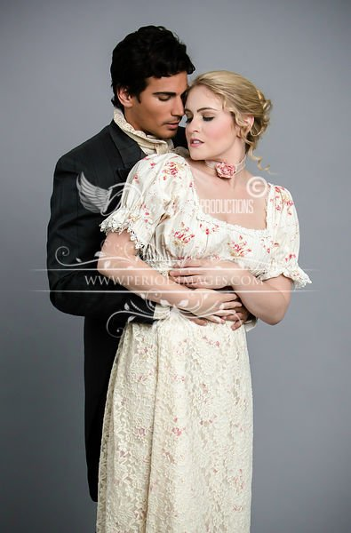 Image 1 of Miss Elinor Regency Dress Size 10-12 CLEARANCE SALE!