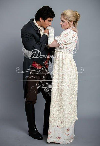Image 2 of Miss Elinor Regency Dress Size 10-12 CLEARANCE SALE!