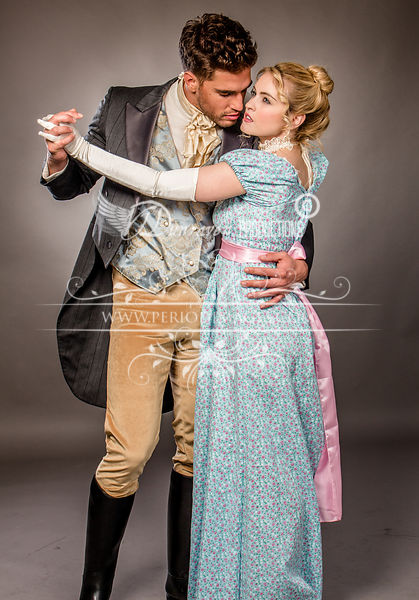 Image 2 of Miss Marianne  Regency Dress CLEARANCE SALE!