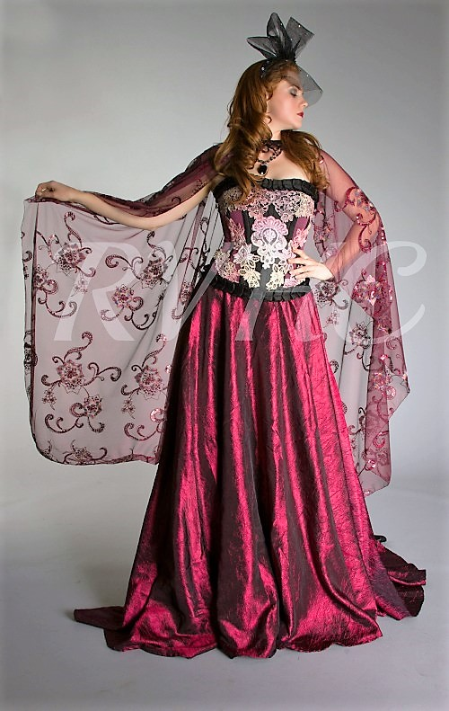 Image 0 of Vampyr Victorian Fantasy Gown