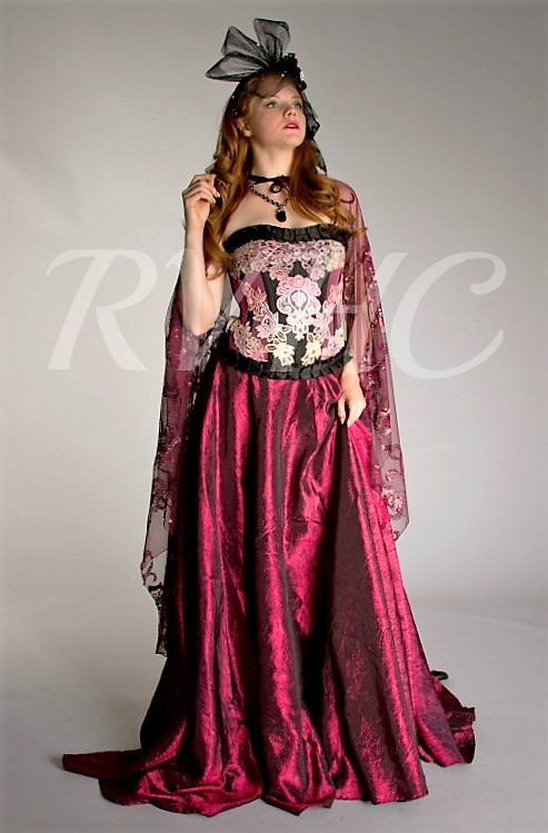 Image 1 of Vampyr Victorian Fantasy Gown