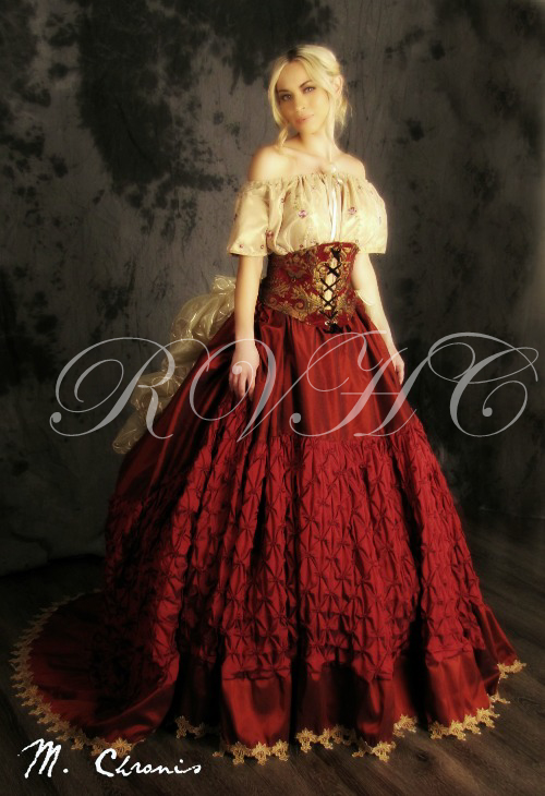 Image 2 of Grand Victorian Ball Gown
