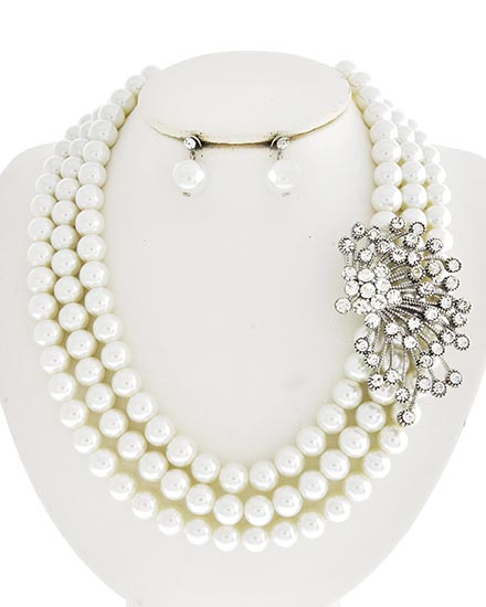 Image 0 of 1920's Style Pearl Choker