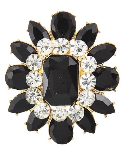Image 0 of Gothic Style Onyx Ring