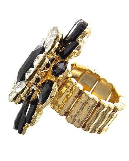 Image 1 of Gothic Style Onyx Ring