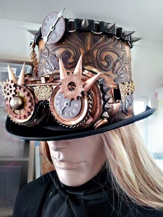 Image 0 of OOAK Steampunk Hat