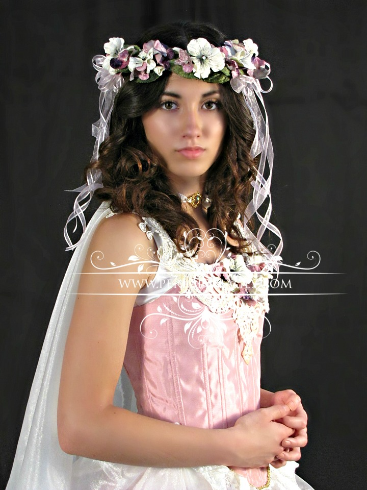 Image 1 of Fairy Flower Crown