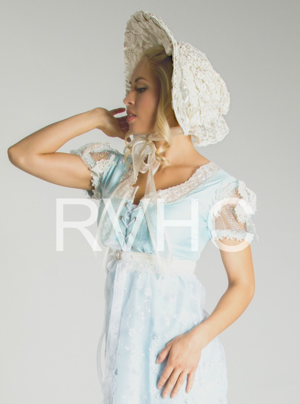 Image 0 of Ivory Regency Bonnet