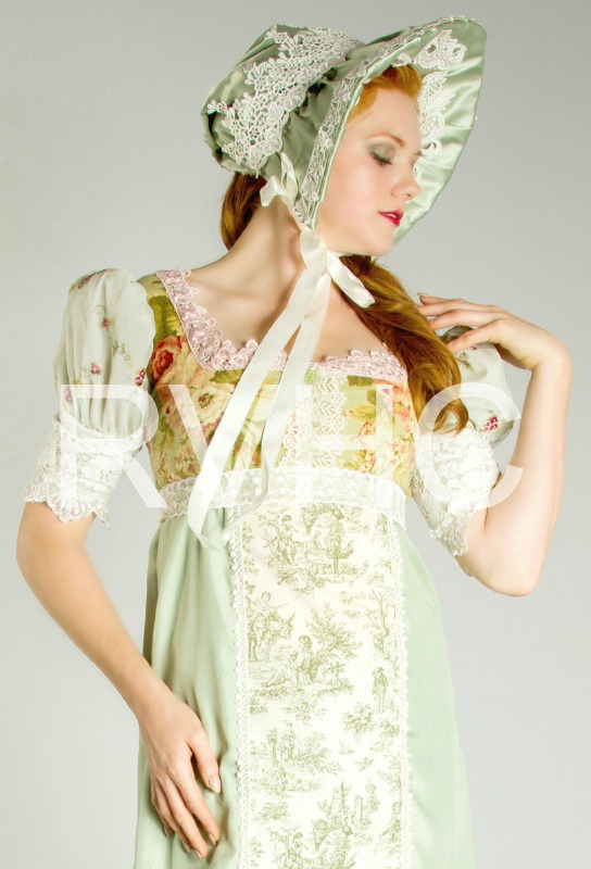 Image 0 of Sage Regency Bonnet