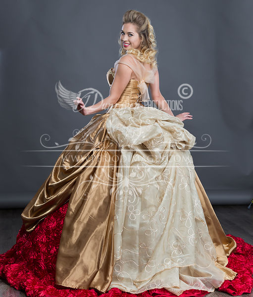 Image 2 of Rose Gold Ball Gown