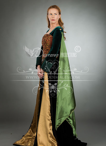 Image 1 of Noblewoman Medieval Dress