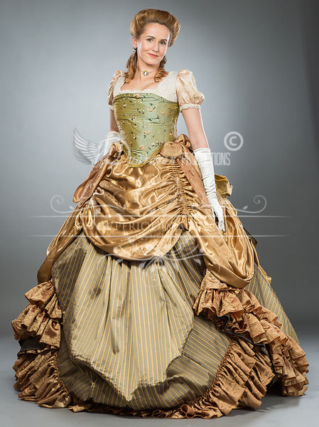 Image 0 of Southern Belle American Victorian Ball Gown