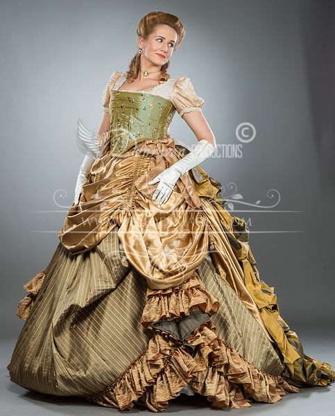 Image 1 of Southern Belle American Victorian Ball Gown