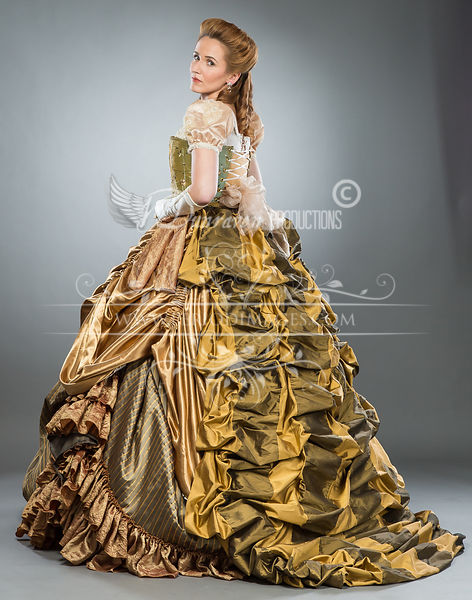Image 2 of Southern Belle American Victorian Ball Gown