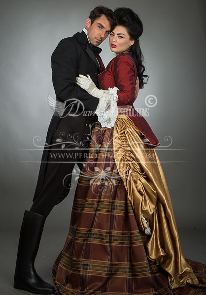 Image 2 of Grand Duchess Victorian Ball Gown