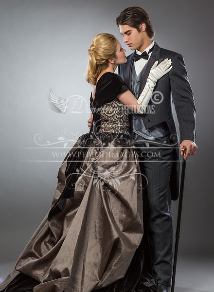 Image 1 of Gothic Victorian Gown #3