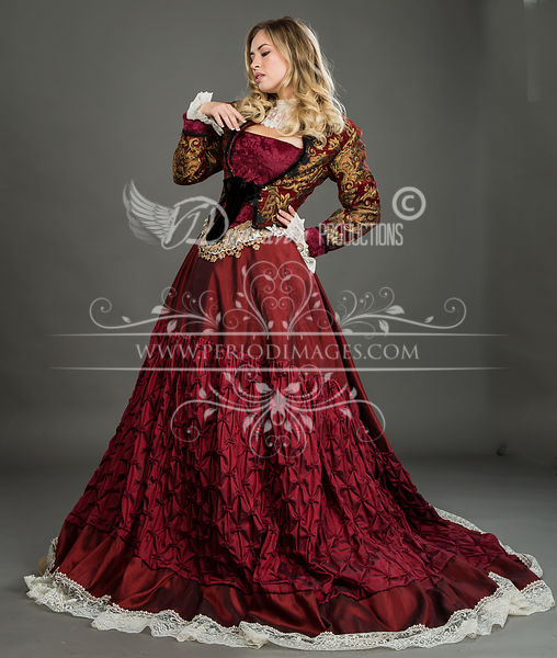 Image 0 of Grand Duchess Victorian Ball Gown #2