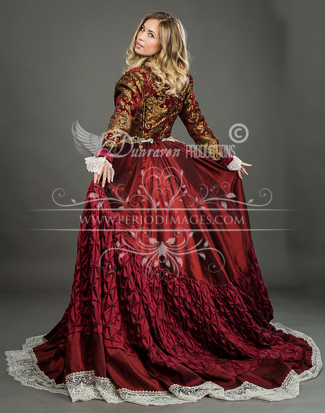 Image 1 of Grand Duchess Victorian Ball Gown #2