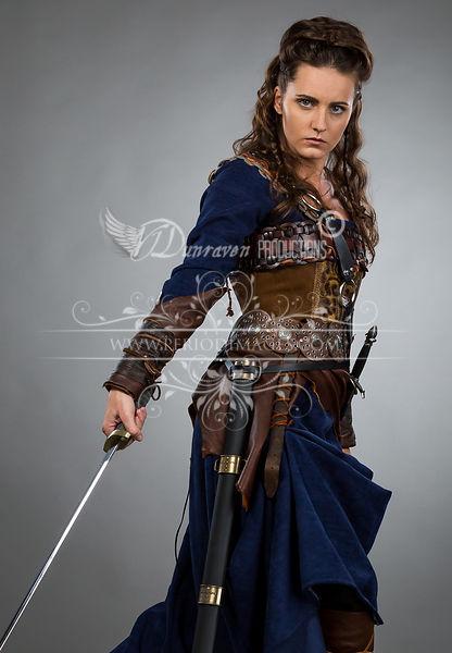 Image 0 of Medieval Female Warrior Dress