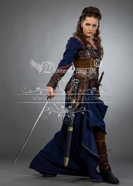 Image 1 of Medieval Female Warrior Dress