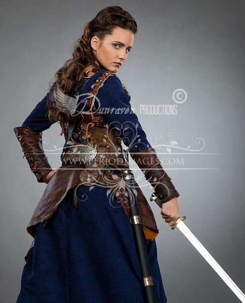 Image 2 of Medieval Female Warrior Dress