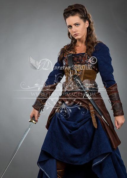 Image 3 of Medieval Female Warrior Dress