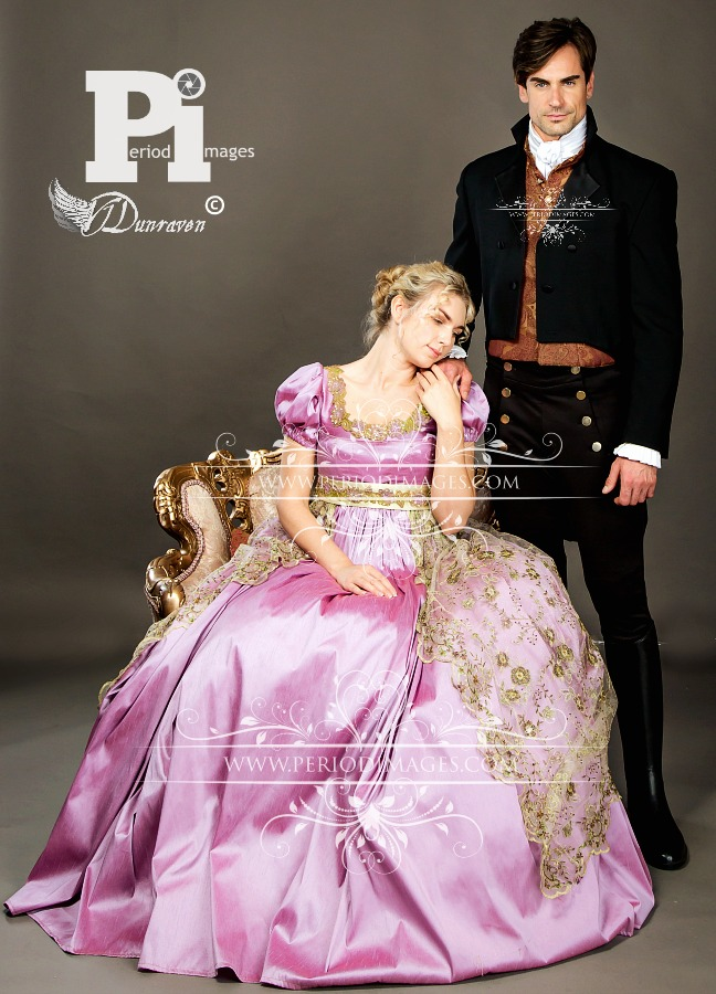 Image 1 of Lady Isabella Regency Gown