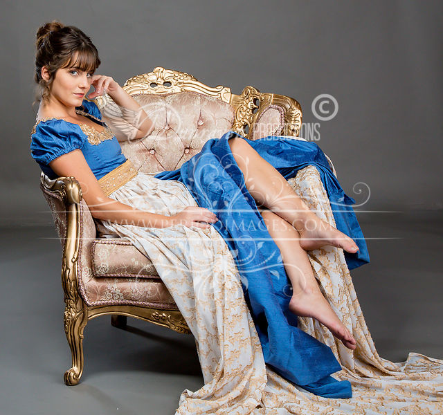 Image 1 of Lady Rose Regency Gown