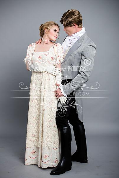 Image 0 of Lady Julia Regency Walking Dress