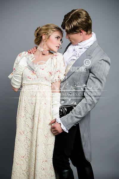 Image 1 of Lady Julia Regency Walking Dress