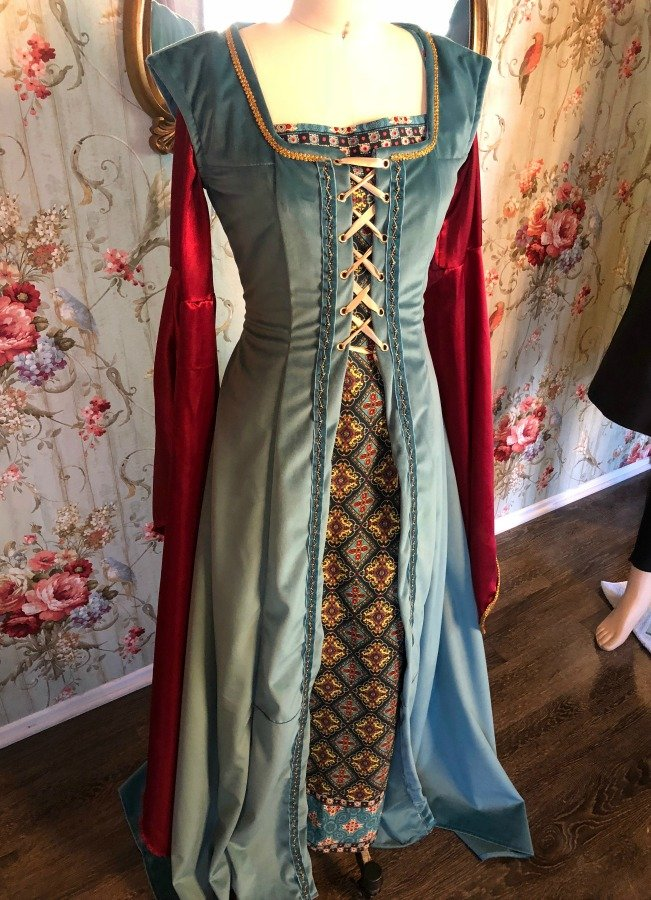 Image 1 of Medieval Dress #4