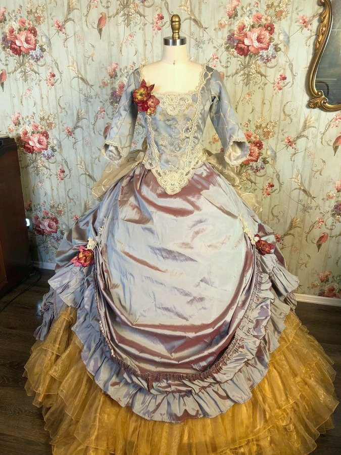 Image 0 of River Belle Victorian Ball Gown