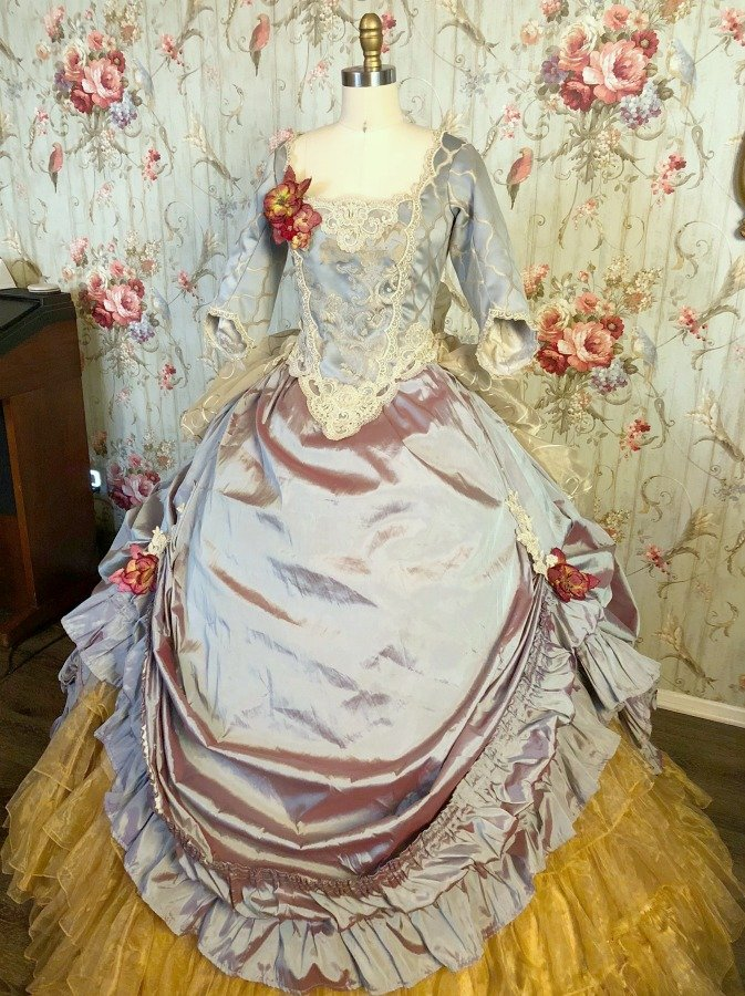 Image 3 of River Belle Victorian Ball Gown