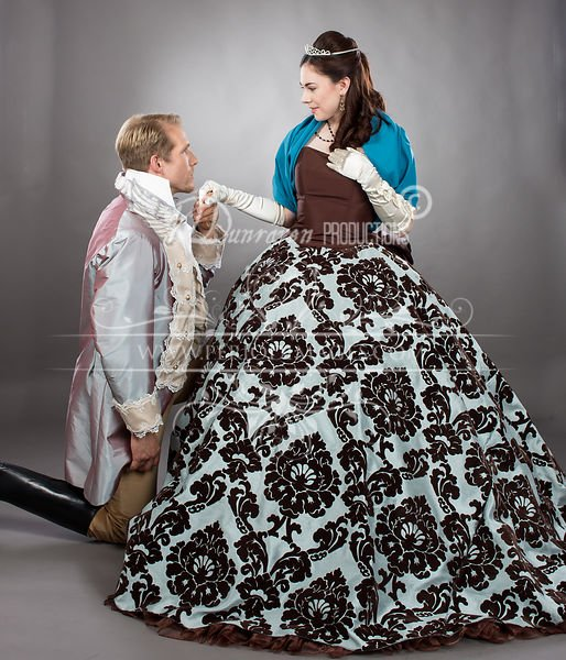 Image 0 of Lady Collette Victorian Ball Gown