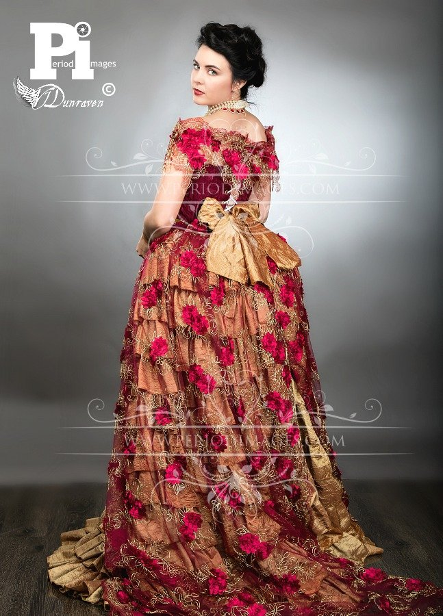 Image 1 of Lady Scarlette Victorian Ball Gown