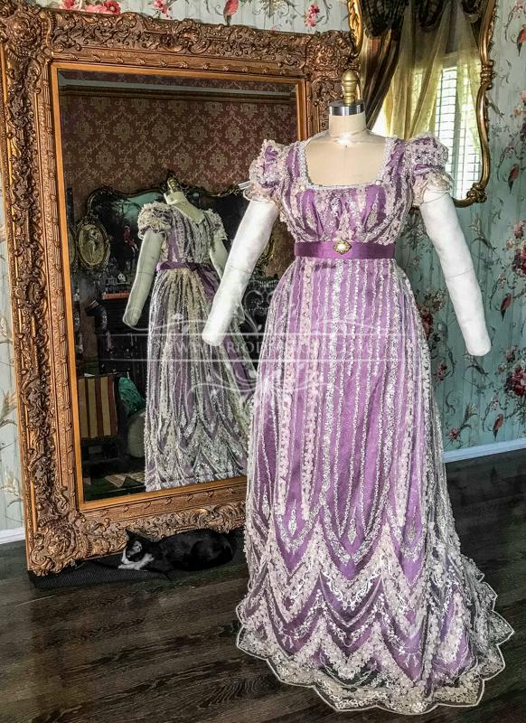 Image 1 of Lady Geneva Regency Gown