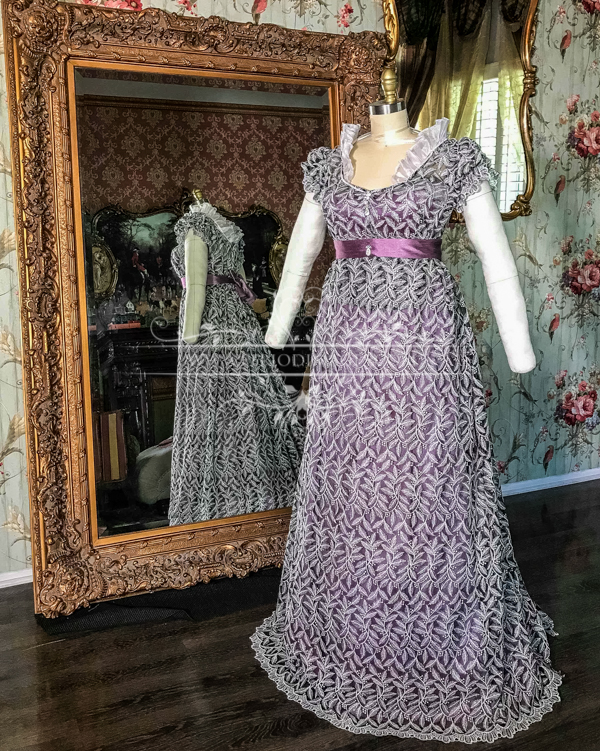 Image 0 of Lady Gertrude Regency Gown