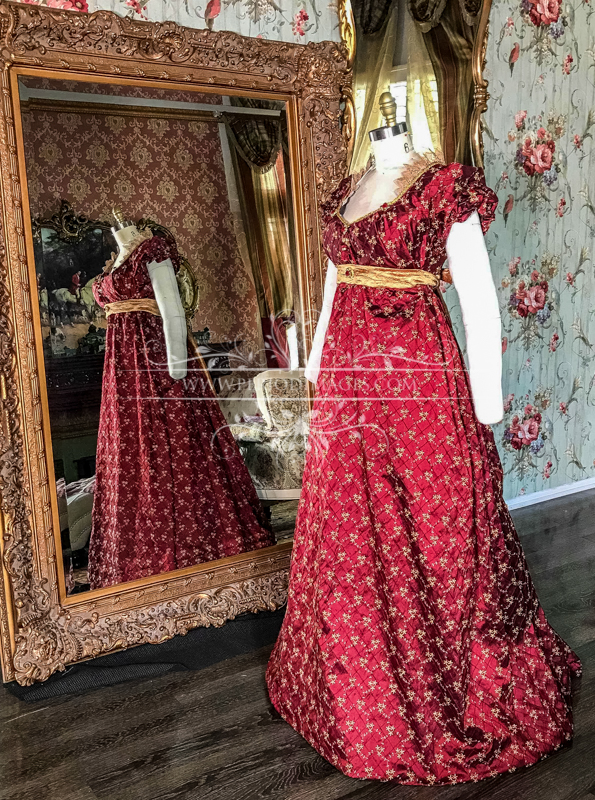 Image 2 of Lady Frances Regency Gown