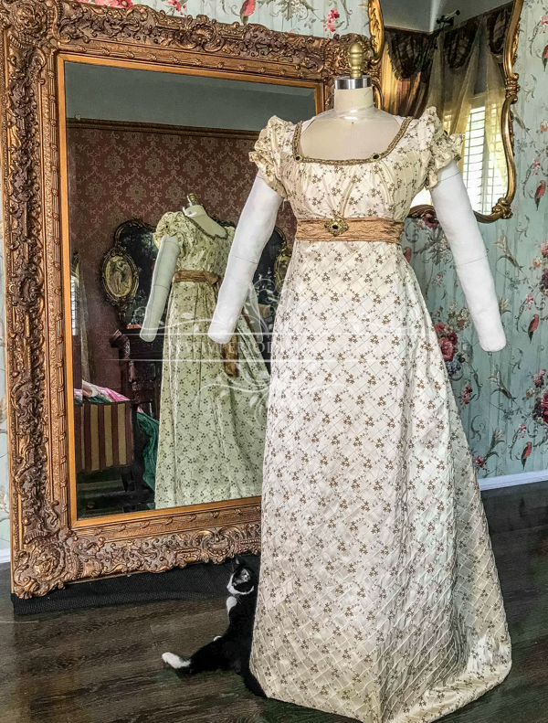 Image 1 of Lady Bianca Regency Gown