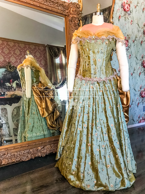Image 1 of Lady Bernadine Victorian Gown