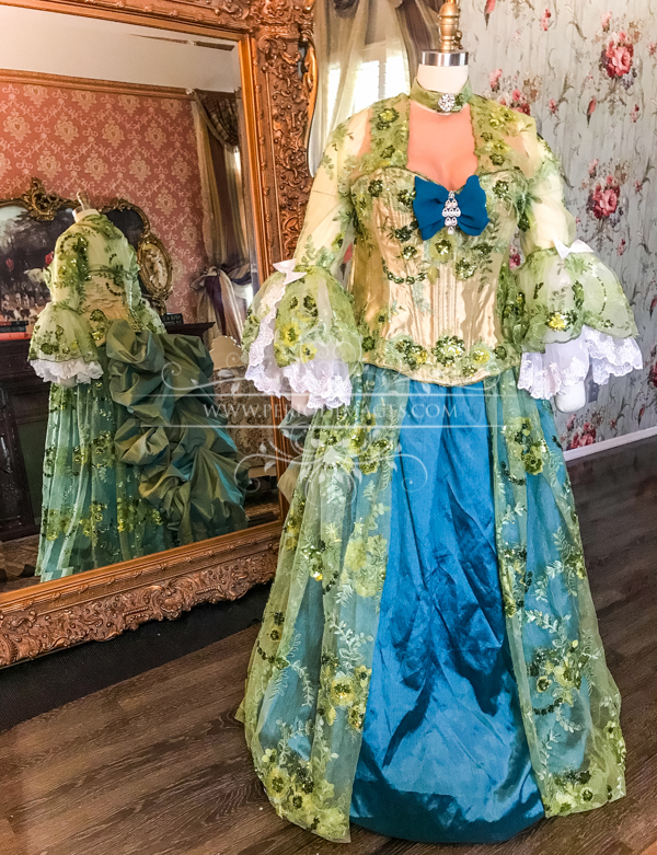 Image 2 of Lady Louise Georgian Gown