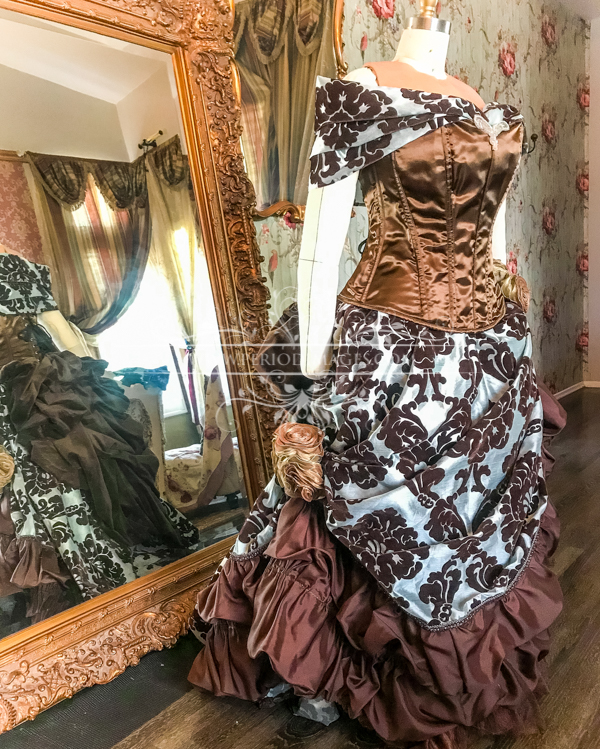 Image 0 of Lady Odelia Victorian Gown