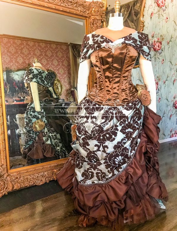 Image 1 of Lady Odelia Victorian Gown