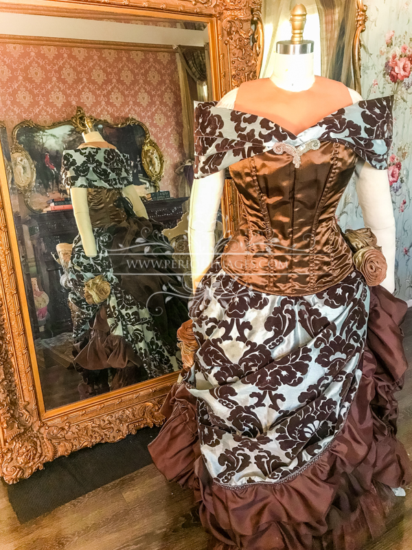 Image 2 of Lady Odelia Victorian Gown