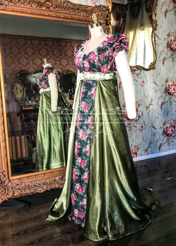 Image 1 of Lady Penelope Regency Gown