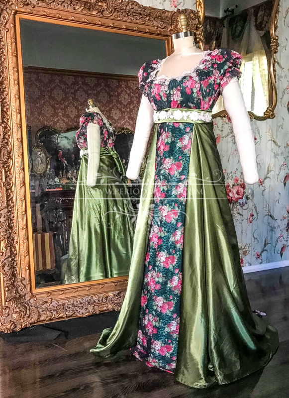Image 2 of Lady Penelope Regency Gown