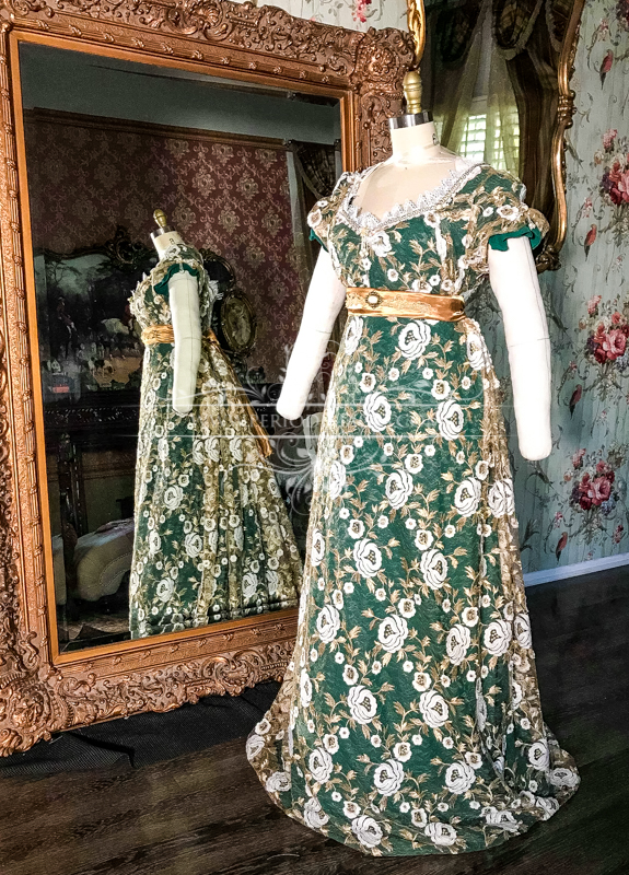 Image 1 of Lady Chantelle Regency Gown